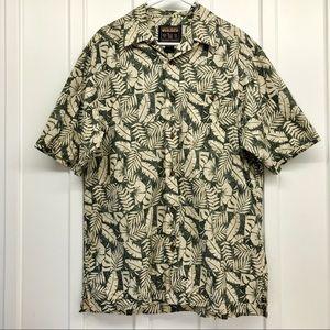 Woolrich Short Sleeve Men's Button down Shirt Sz M